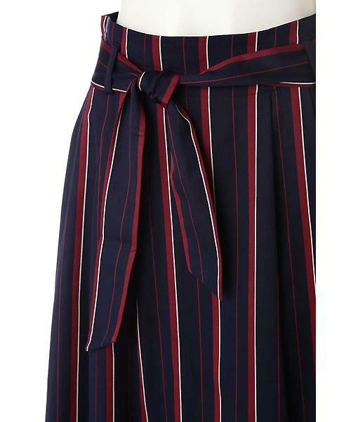22 OCTOBRE / ヴァンドゥー・オクトーブル スカート | [WEB限定商品]マルチストライプフィッシュテールスカート | 詳細5
