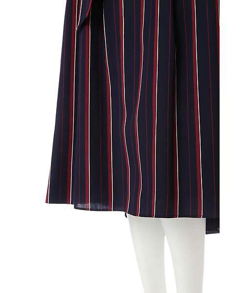 22 OCTOBRE / ヴァンドゥー・オクトーブル スカート | [WEB限定商品]マルチストライプフィッシュテールスカート | 詳細6