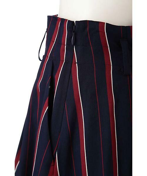 22 OCTOBRE / ヴァンドゥー・オクトーブル スカート | [WEB限定商品]マルチストライプフィッシュテールスカート | 詳細8