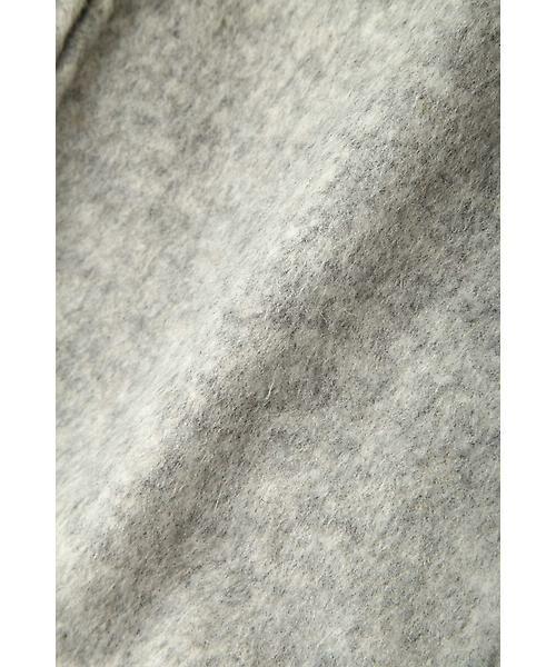 22 OCTOBRE / ヴァンドゥー・オクトーブル シャツ・ブラウス | [WEB限定商品]ウールシャギーフーデット | 詳細8
