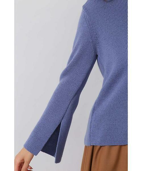 22 OCTOBRE / ヴァンドゥー・オクトーブル ニット・セーター | ◆スリットスリーブニット | 詳細5