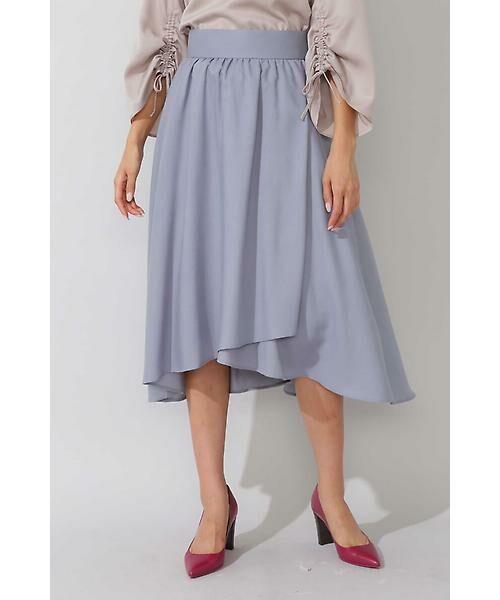 22 OCTOBRE / ヴァンドゥー・オクトーブル スカート | ◆ビエラフィッシュテールスカート(ブルー)