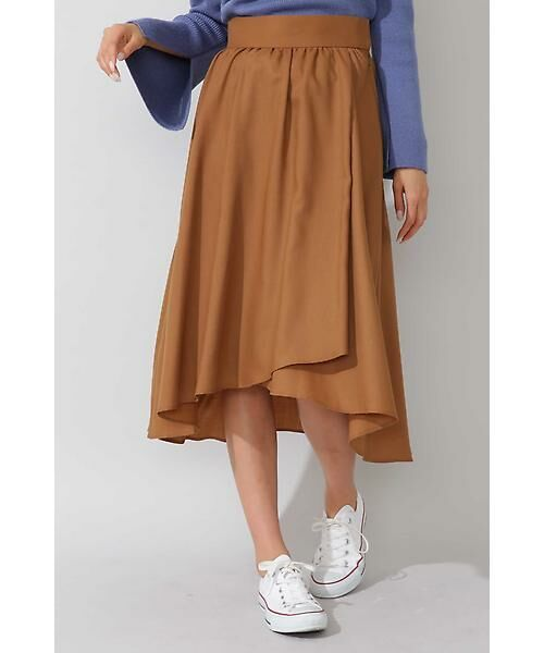 22 OCTOBRE / ヴァンドゥー・オクトーブル スカート | ◆ビエラフィッシュテールスカート(キャメル5)