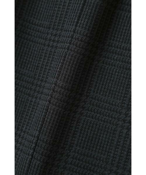 22 OCTOBRE / ヴァンドゥー・オクトーブル スカート | グレンチェックジャカードスカート | 詳細10