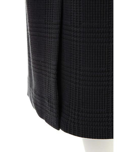 22 OCTOBRE / ヴァンドゥー・オクトーブル スカート | グレンチェックジャカードスカート | 詳細5