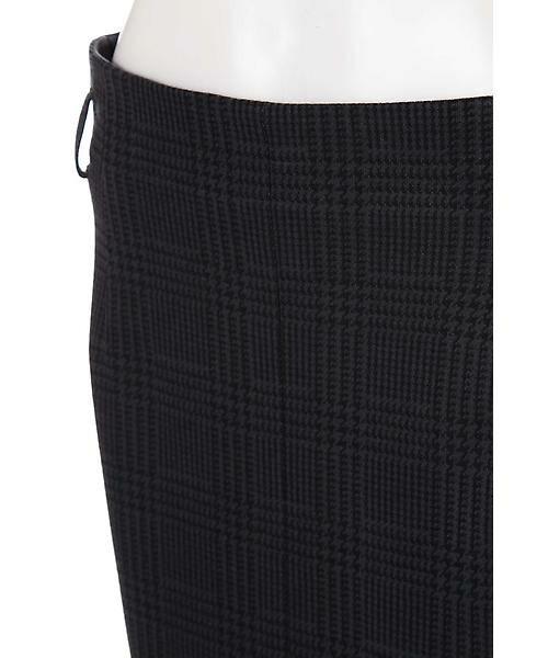 22 OCTOBRE / ヴァンドゥー・オクトーブル スカート | グレンチェックジャカードスカート | 詳細6