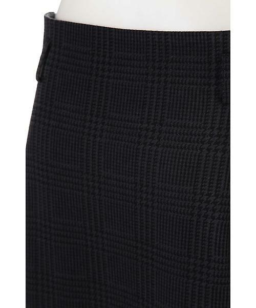22 OCTOBRE / ヴァンドゥー・オクトーブル スカート | グレンチェックジャカードスカート | 詳細7
