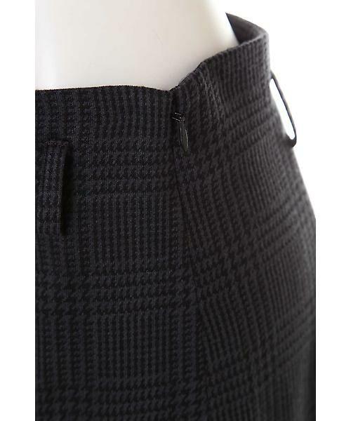 22 OCTOBRE / ヴァンドゥー・オクトーブル スカート | グレンチェックジャカードスカート | 詳細8