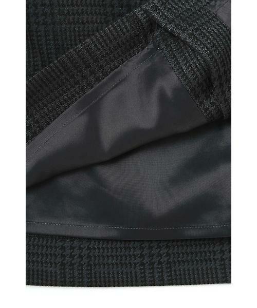 22 OCTOBRE / ヴァンドゥー・オクトーブル スカート | グレンチェックジャカードスカート | 詳細9