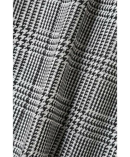 22 OCTOBRE / ヴァンドゥー・オクトーブル スカート | グレンチェックジャカードスカート | 詳細12