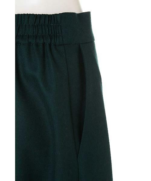 22 OCTOBRE / ヴァンドゥー・オクトーブル スカート | ハイカウントフラノフレアスカート | 詳細11