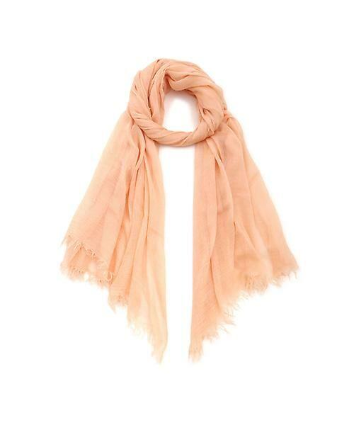 22 OCTOBRE / ヴァンドゥー・オクトーブル 服飾雑貨 | モダール大判ストール(ピンク)