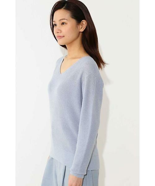 22 OCTOBRE / ヴァンドゥー・オクトーブル ニット・セーター | ◆ラメ混ニット | 詳細4