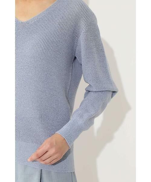 22 OCTOBRE / ヴァンドゥー・オクトーブル ニット・セーター | ◆ラメ混ニット | 詳細6