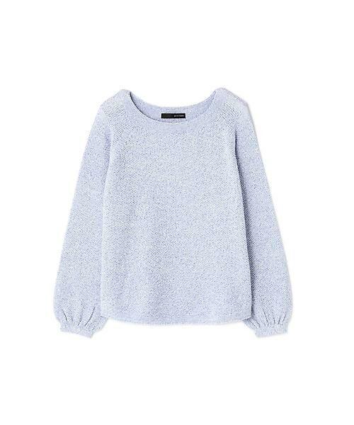 22 OCTOBRE / ヴァンドゥー・オクトーブル ニット・セーター | ◆メニーヤーンニット(ブルー)