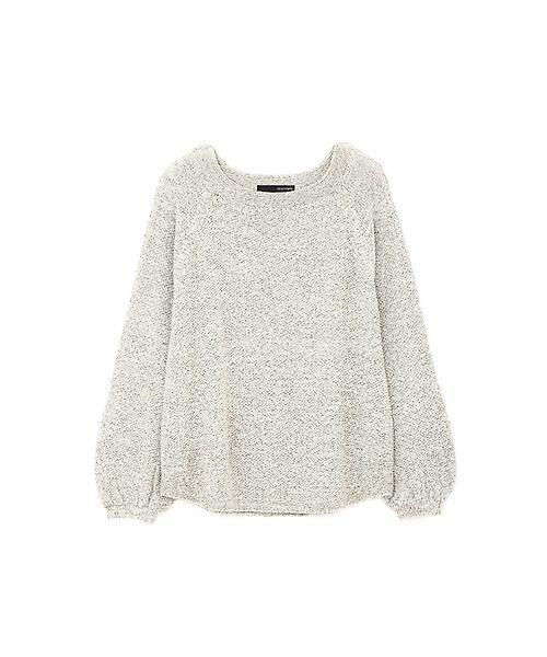 22 OCTOBRE / ヴァンドゥー・オクトーブル ニット・セーター | ◆メニーヤーンニット(カーキ)
