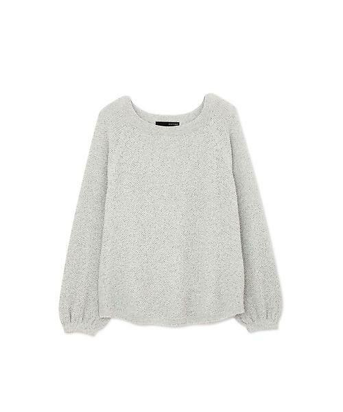 22 OCTOBRE / ヴァンドゥー・オクトーブル ニット・セーター | ◆メニーヤーンニット(グレー)