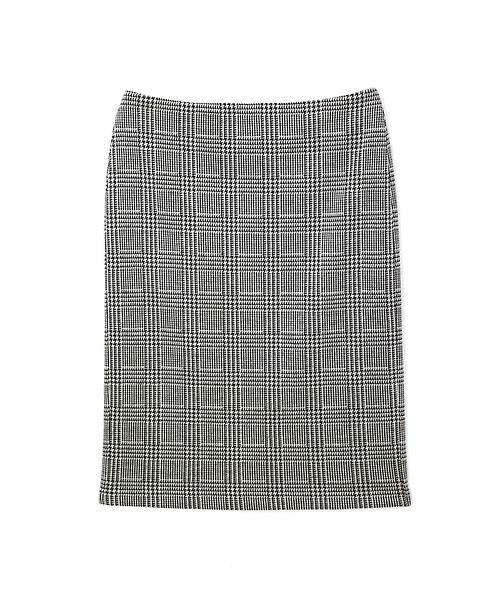 22 OCTOBRE / ヴァンドゥー・オクトーブル スカート | ◆グレンチェックジャカードスカート | 詳細1