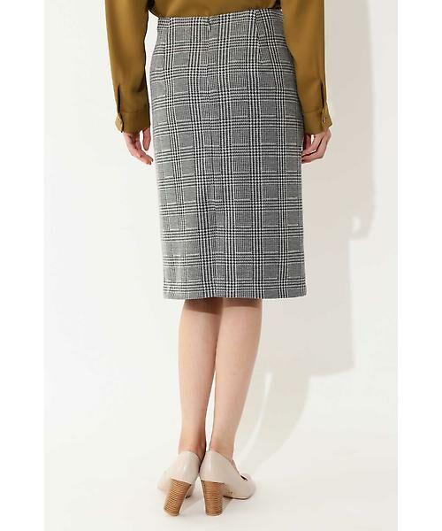 22 OCTOBRE / ヴァンドゥー・オクトーブル スカート | ◆グレンチェックジャカードスカート | 詳細2