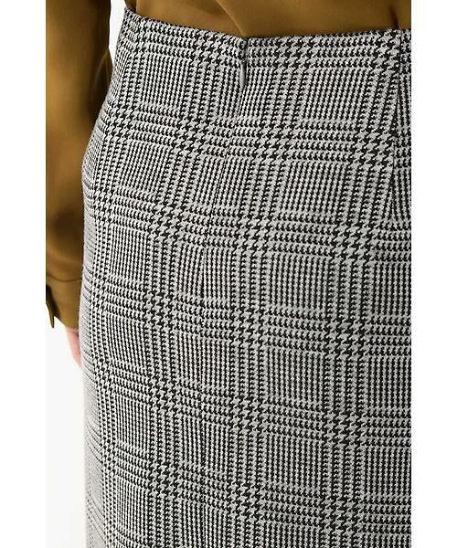 22 OCTOBRE / ヴァンドゥー・オクトーブル スカート | ◆グレンチェックジャカードスカート | 詳細4