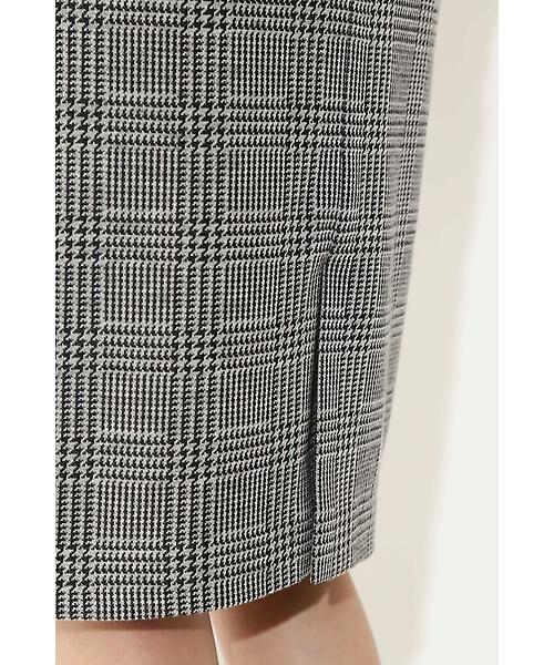 22 OCTOBRE / ヴァンドゥー・オクトーブル スカート | ◆グレンチェックジャカードスカート | 詳細6