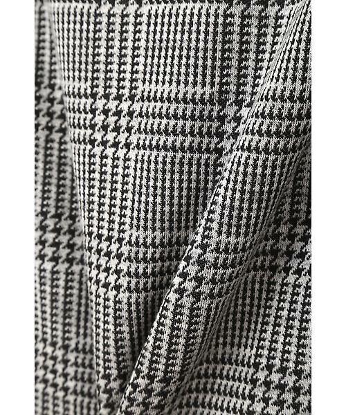 22 OCTOBRE / ヴァンドゥー・オクトーブル スカート | ◆グレンチェックジャカードスカート | 詳細8