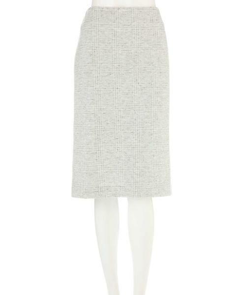 22 OCTOBRE / ヴァンドゥー・オクトーブル スカート | ◆グレンチェックジャカードスカート | 詳細9