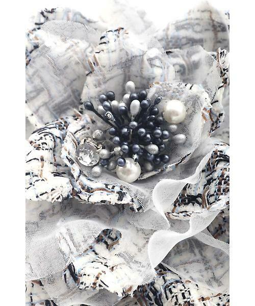 22 OCTOBRE / ヴァンドゥー・オクトーブル 服飾雑貨 | ★セレモニー対応★ミックスツイードコサージュ | 詳細2