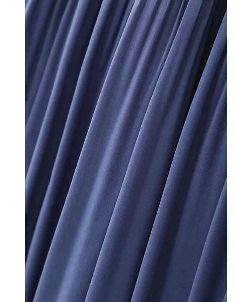 22 OCTOBRE / ヴァンドゥー・オクトーブル スカート | ◆ピーチサテンプリーツスカート | 詳細2