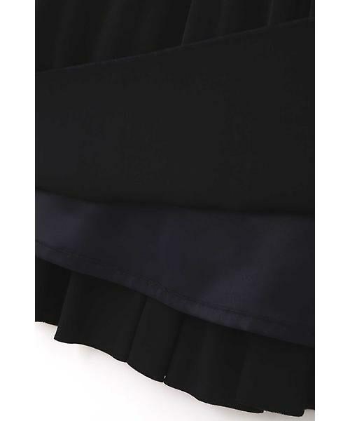 22 OCTOBRE / ヴァンドゥー・オクトーブル スカート | ◆ピーチサテンプリーツスカート | 詳細11
