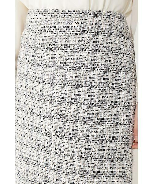 22 OCTOBRE / ヴァンドゥー・オクトーブル スカート | ★セットアップ対応★ミックスツイードスカート(セットアップ対応) | 詳細5