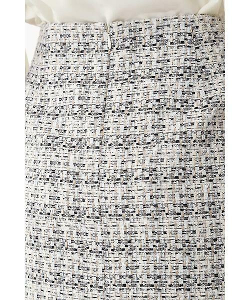 22 OCTOBRE / ヴァンドゥー・オクトーブル スカート | ★セレモニー対応★ミックスツイードスカート(セットアップ対応) | 詳細6