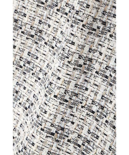 22 OCTOBRE / ヴァンドゥー・オクトーブル スカート | ★セレモニー対応★ミックスツイードスカート(セットアップ対応) | 詳細9