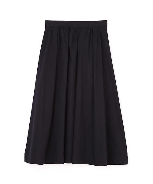 22 OCTOBRE / ヴァンドゥー・オクトーブル スカート | ◆フィッティーフレアスカート(ネイビー)