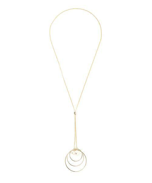 22 OCTOBRE / ヴァンドゥー・オクトーブル 服飾雑貨 | サークルネックレス(ゴールド)
