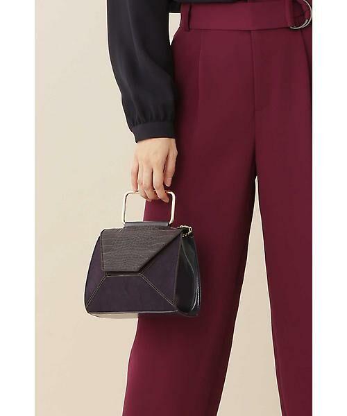 22 OCTOBRE / ヴァンドゥー・オクトーブル 服飾雑貨 | ミニバッグ(パープル)