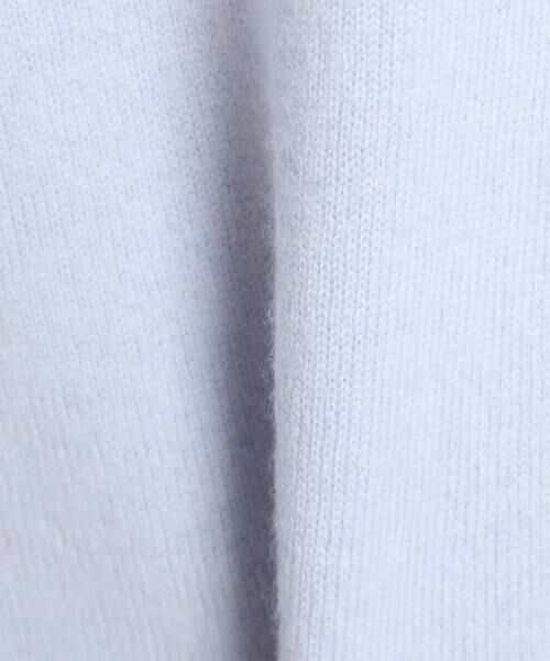 7-IDconcept / セブンアイディーコンセプト ニット・セーター | 《大きいサイズ》カシミヤ混ボトルネックニット | 詳細5