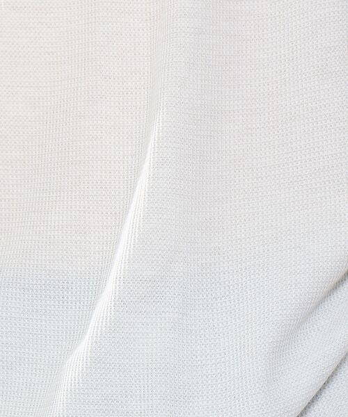 ABAHOUSE / アバハウス キャミソール・チューブトップ | 【吸水速乾/WEB別注】吸水速乾ワッフル レイヤードロングタンクトップ | 詳細1