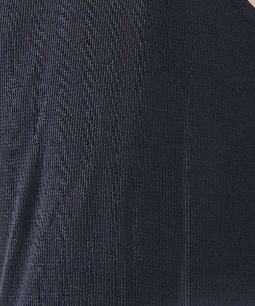 ABAHOUSE / アバハウス キャミソール・チューブトップ | 【吸水速乾/WEB別注】吸水速乾ワッフル レイヤードロングタンクトップ | 詳細21