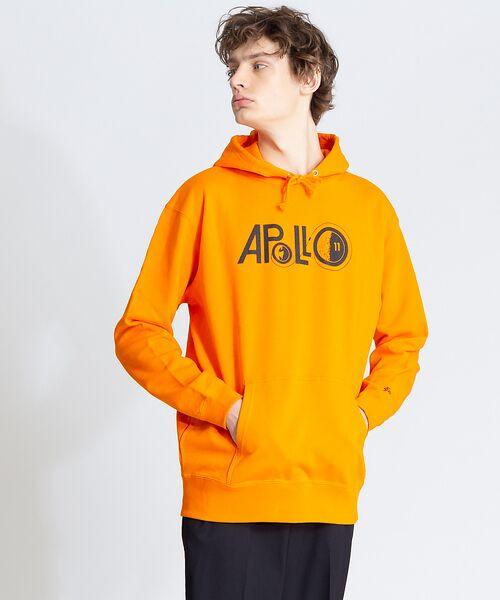 ABAHOUSE / アバハウス パーカー | 【NASA】アポロ11スウエットパーカー(オレンジ)