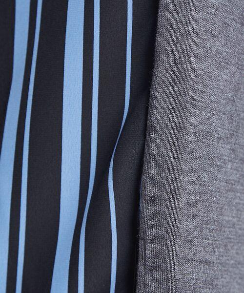 ABAHOUSE / アバハウス ニット・セーター | ストライプニットコンビTシャツ | 詳細10
