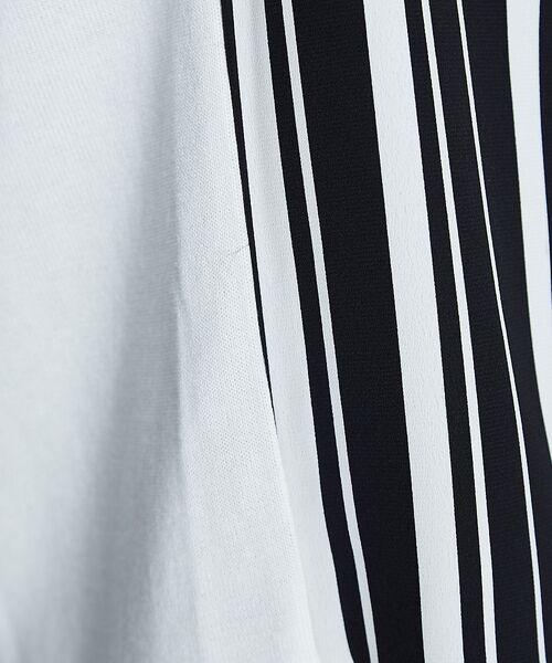 ABAHOUSE / アバハウス ニット・セーター | ストライプニットコンビTシャツ | 詳細14