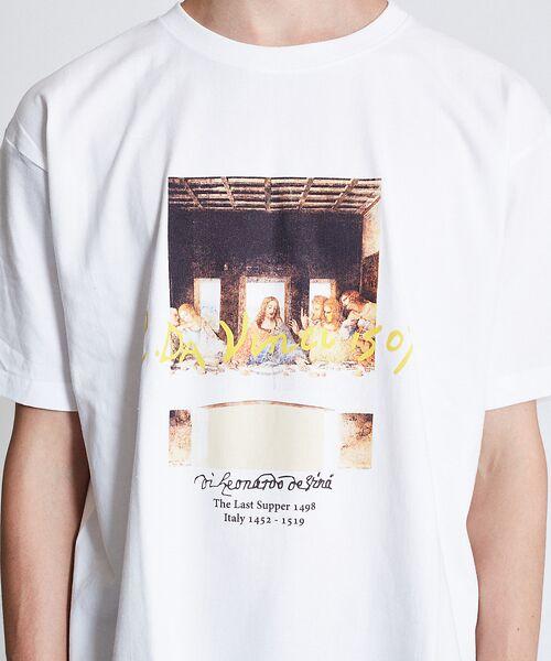 ABAHOUSE / アバハウス Tシャツ | ダヴィンチ The Last Supper Tシャツ【予約】 | 詳細1
