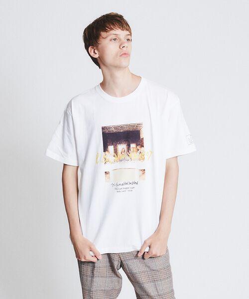 ABAHOUSE / アバハウス Tシャツ | ダヴィンチ The Last Supper Tシャツ【予約】(ホワイト)