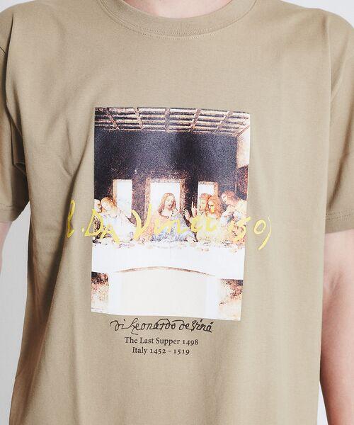 ABAHOUSE / アバハウス Tシャツ | ダヴィンチ The Last Supper Tシャツ | 詳細4