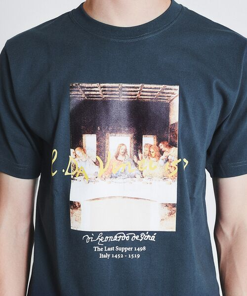 ABAHOUSE / アバハウス Tシャツ | ダヴィンチ The Last Supper Tシャツ | 詳細12