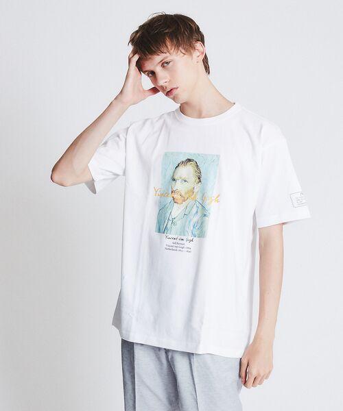 ABAHOUSE / アバハウス Tシャツ   ゴッホ Portrait Tシャツ   詳細2