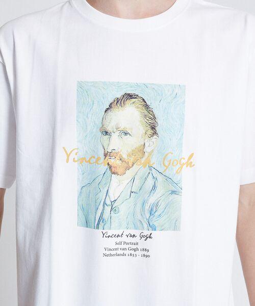 ABAHOUSE / アバハウス Tシャツ   ゴッホ Portrait Tシャツ   詳細4