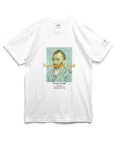 ABAHOUSE / アバハウス Tシャツ | ゴッホ Portrait Tシャツ【予約】(ホワイト)