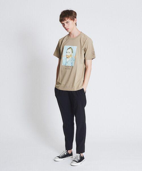 ABAHOUSE / アバハウス Tシャツ   ゴッホ Portrait Tシャツ   詳細6